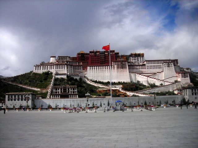 die ehemalige residenz des Dalai Lama