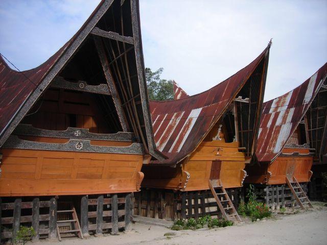 typische Batakarchitektur