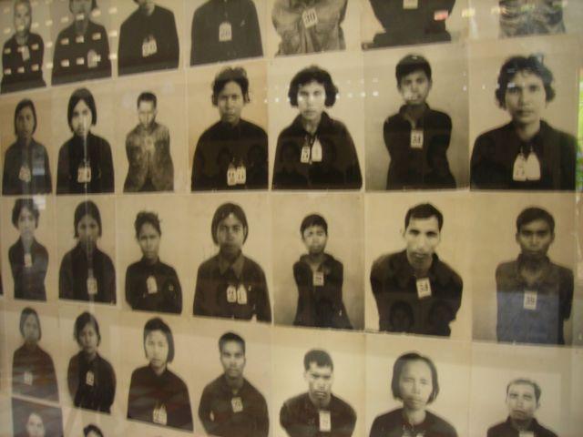 wie bei Adolf, jeder gefangene wurde registriert, fotografiert usw...