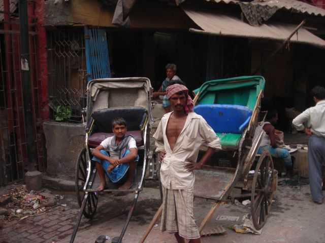 calcutta is the last place on earth where they still use handpulled rikshaws