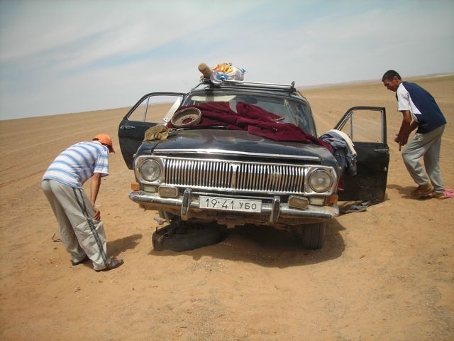 bad luck in the gobi