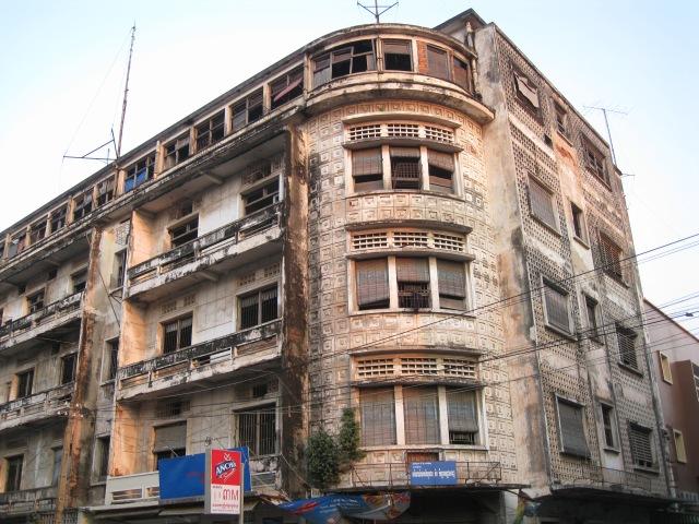 Wohnhaus im Zentrum von Phnom Penh