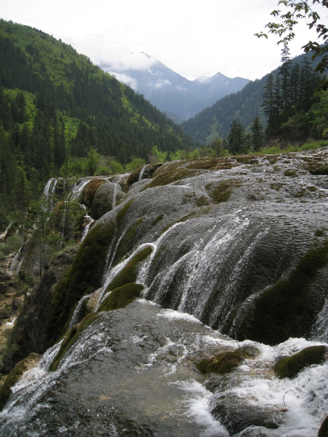 Der Perlenwasserfall