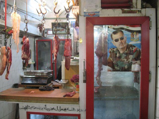 Butchery in Aleppo