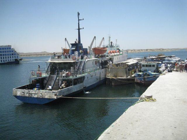 Ferry to Sudan