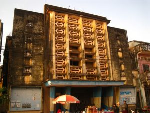 Only for fans, the old cinema in Kampot
