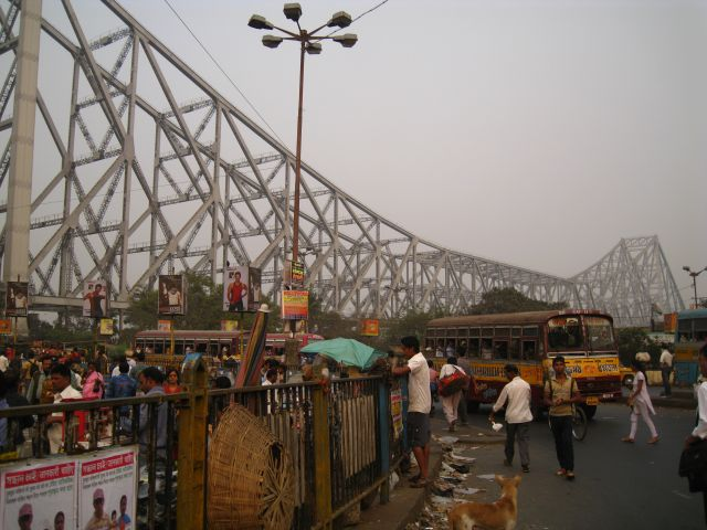 seen from Howrah side