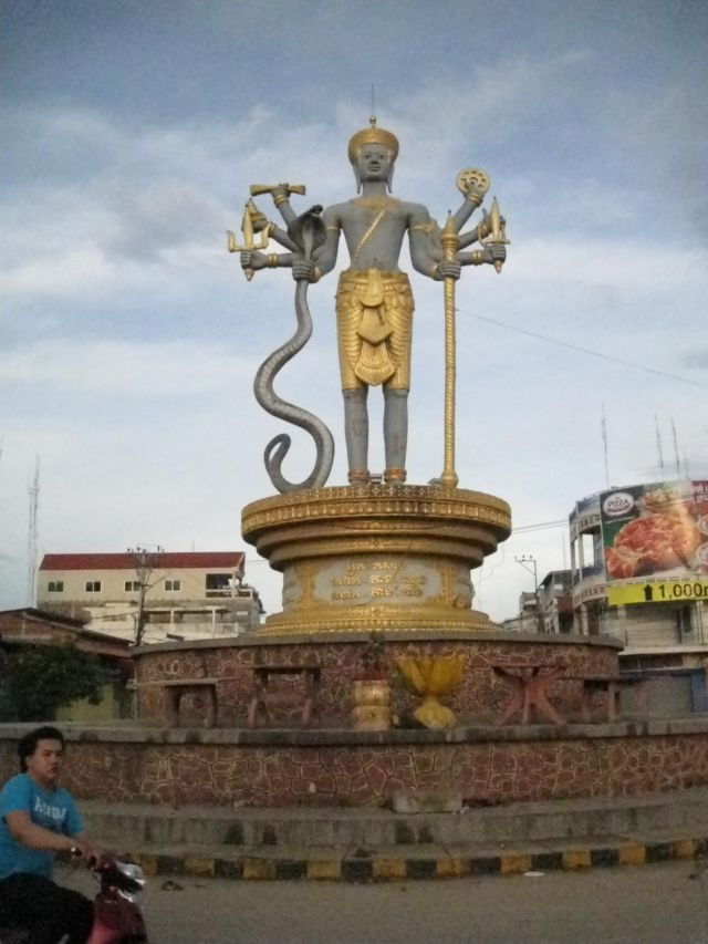Battambang, zweitgrösste Stadt im Nordwesten Kambodschas. Erwacht seit einigen Jahren aus seinem Dornröschenschlaf...